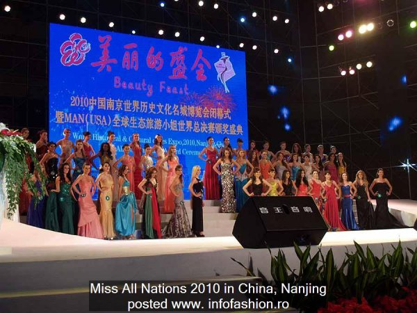 China PR- Miss All Nation 2010 Final 24 OCT in Nanjing
