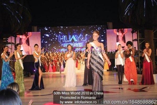 USA United States- Alexandria MILLS, WINNER OF MISS WORLD 2010, 1st ru Beach Beauty, 3rd Top Model at 60th edition in China, Sanya