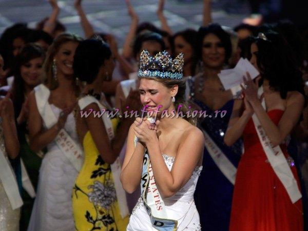 USA United States of America- Alexandria MILLS, WINNER OF MISS WORLD 2010 Photo Reuters