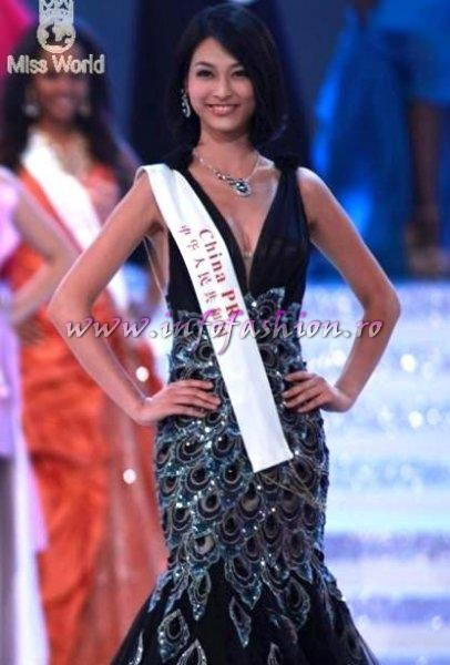 TOP 25 China PR- Tang XIAO, 3rd ru Beach Beauty at Miss World 2010, 60th edition in China, Sanya