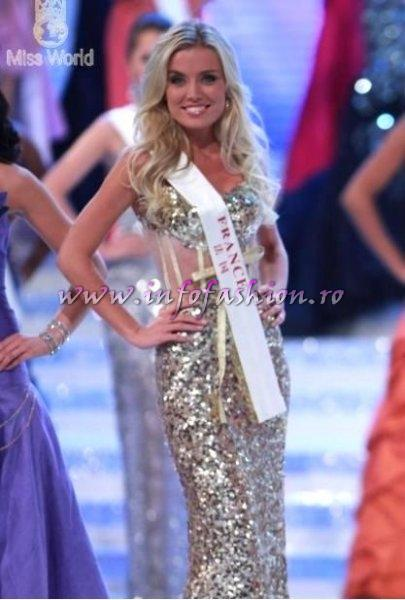 France- Virginie Dechenaud at Miss World 2010, 60th edition in China, Sanya