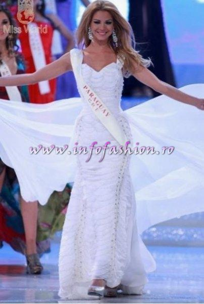 TOP 25 Paraguay- Egni Analia ALMIRON ECKERT at Miss World 2010, 60th edition in China, Sanya