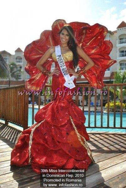 Puerto Rico- Maydelise Columna, Winner of Miss Intercontinental 2010 in Punta Cana, Dominican Rep.
