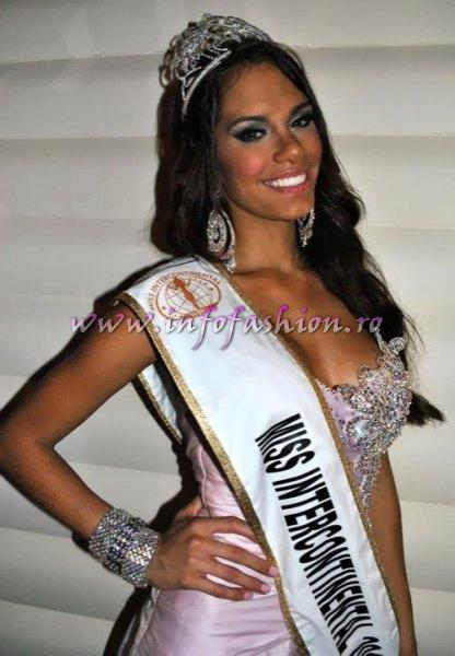 Puerto Rico- Maydelise Columna, Winner of Miss Intercontinental 2010 in Punta Cana, Dominican Rep. Photo Hector Joaquin