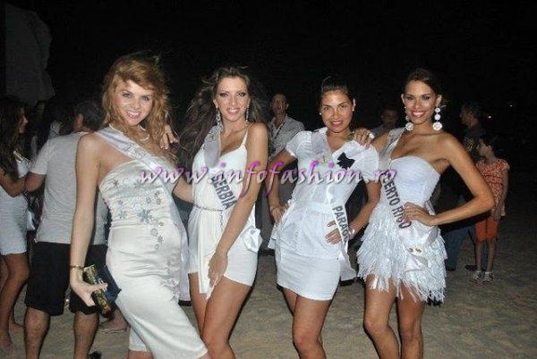 Romania, Serbia, Paraguay, Puerto Rico at 39 edition MISS INTERCONTINENTAL in Dominican Rep.