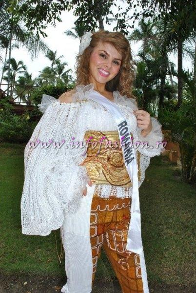 2010 Alina Clapa ROMANIA at Miss Intercontinental 2010 in Punta Cana /Infofashion A_178CM
