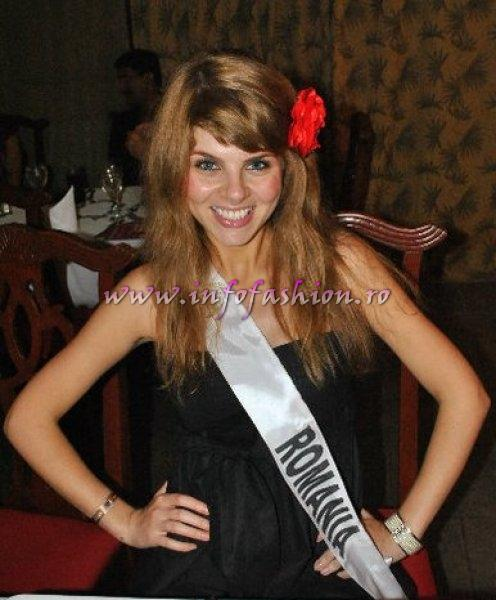 Alina_Clapa 2010 Romania for Dominican Rep MISS INTERCONTINENTAL Final 39 edition/ InfoFashion.RO