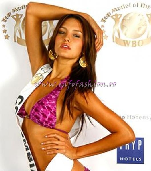 Colombia- Carolina Rodriguez Winner New Top Model Of The World WBO in Germany 2010