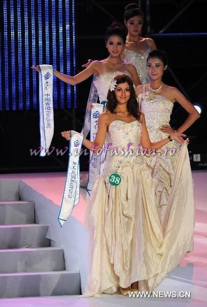 2010 Romania Cristiana Terecoasa la Miss All Nation in China on TOP 16