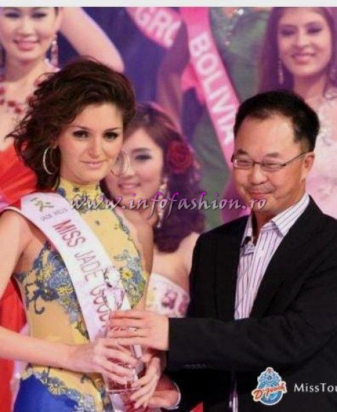 Alina Mirt la MISS TOURISM INTERNATIONAL 12 DEC. 2009- 2 IAN. 2010 prin InfoFashion Platinum Ag.