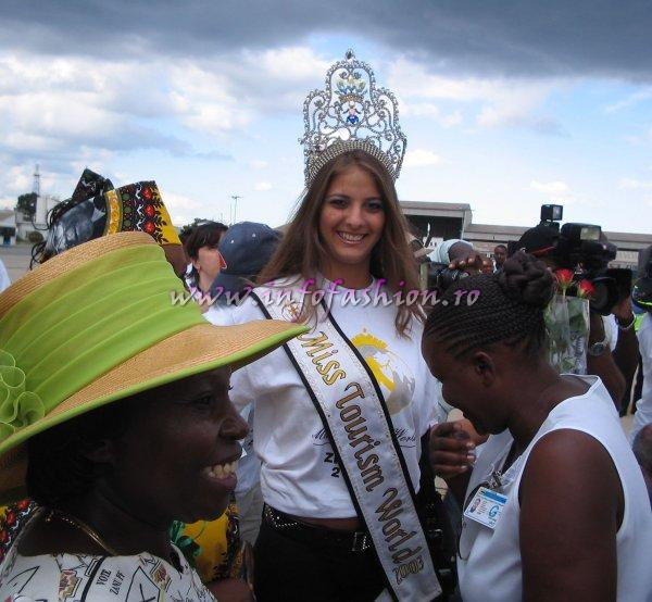 Alina_Ciorogariu Winner Miss Tourism World 2003 in Venezuela, guest in Zimbabwe 2005