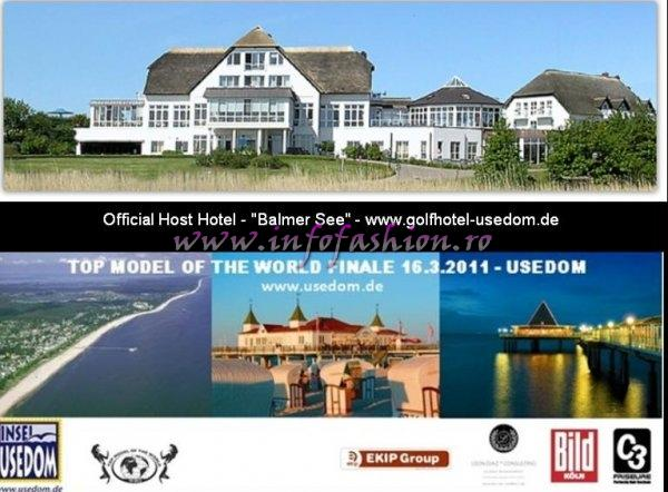 Germany 2011 Official Host Hotel Balmer See golfhotel-usedom.de for 18th Top Model of the World Pageant in SUN ISLAND Usedom