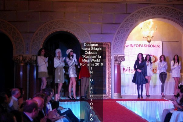Platinum_2010 Ag InfoFashion Designeri Ioana Silaghi la Miss World Romania