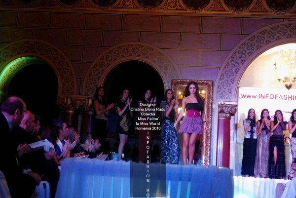 Platinum_2010 Ag InfoFashion Designeri Cristina Elena Radu la Miss World Romania