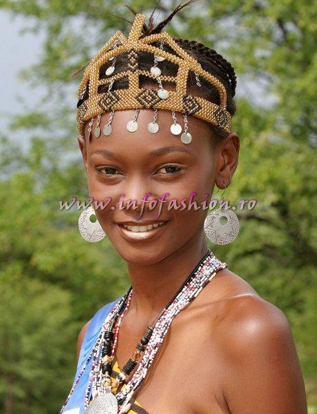 Kenia at Miss Tourism World 2005 in Zimbabwe (Photo: Frank Thompson)