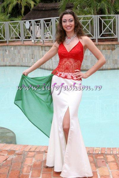 Italy at Miss Tourism World 2005 in Zimbabwe (Photo: Frank Thompson)