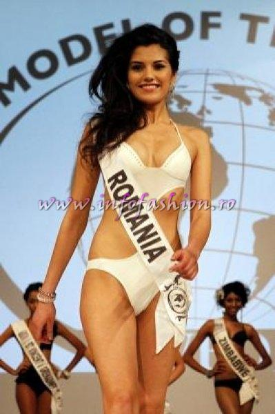 Loredana Salanta, Romania is Winner in Germany! Studentin aus Rumanien ist Top Model of the World Foto DPA