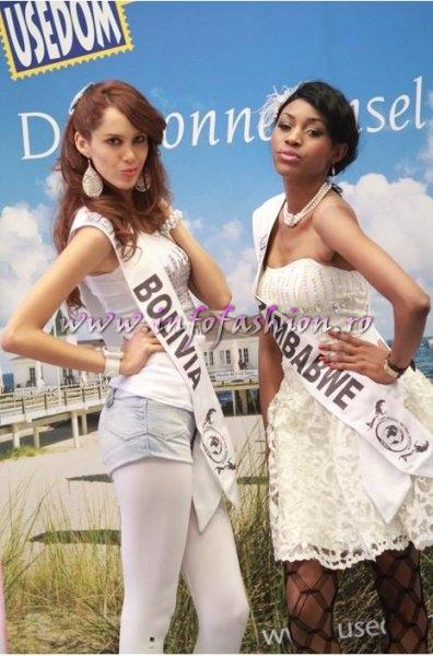 Zimbabwe- Vanessa Sibanda, 2nd ru at Top Model of the World Germany 18th edition Foto WBO