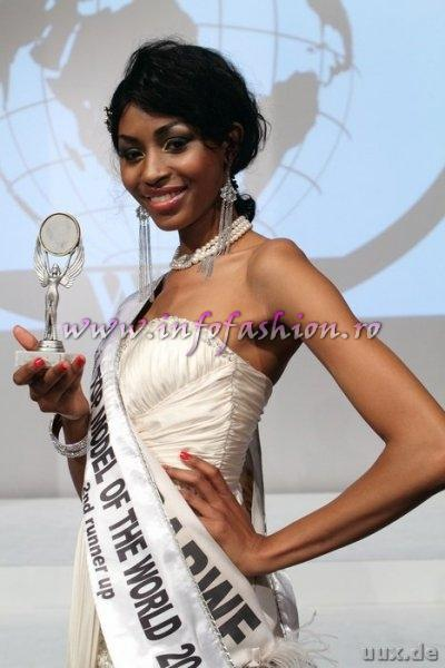 Zimbabwe_2011 Vanessa Sibanda, 2nd ru at Top Model of the World Germany 18th edition