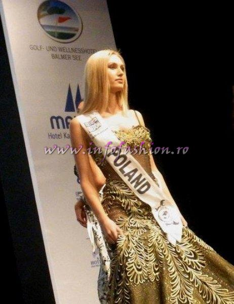 Poland_2011 Zuzanna Brzezinska, Best Evening Gown Award, 3rd ru at Top Model of the World Germany 18th edition