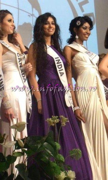 India_2011 Michelle Almeida, SENSES Magazine Model Award at Top Model of the World Germany 18th edition
