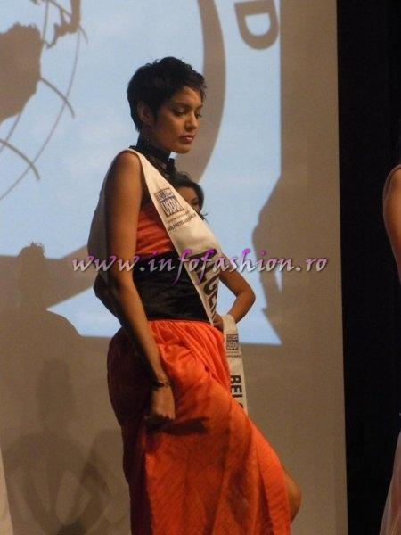 Algeria_2011 Yasmine Ouchene, 4th ru at Top Model of the World Germany 18th edition