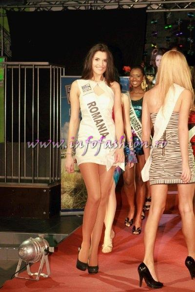 Loredana Salanta, Romania in Germany, Studentin aus Rumanien ist Top Model of the World Foto WBO