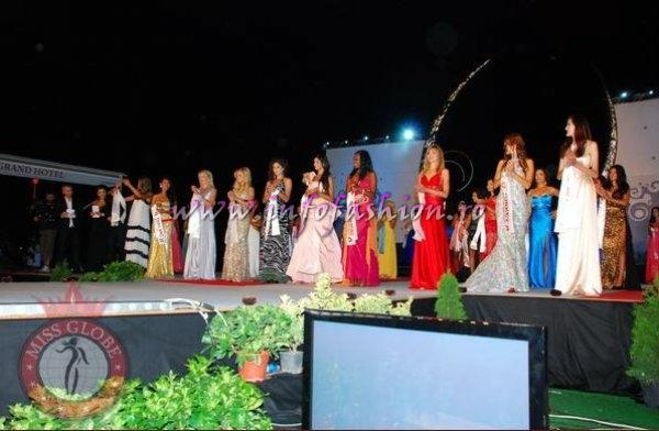 Albania 2010 Miss Globe in Saranda. Near Saranda are the remains of the ancient city of Butrint, a UNESCO World Heritage site