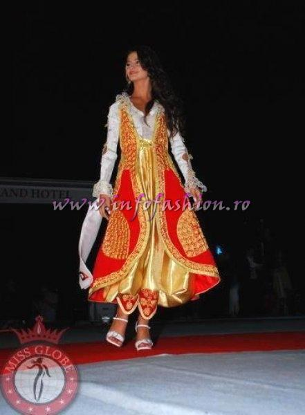 Kosovo_2010 Blendiana Bekteshi, Best National Costume at Miss Globe in Albania