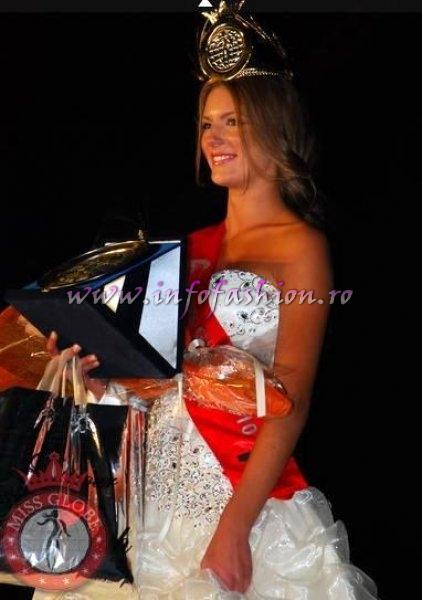 Lithuania_2010 Laura Urbonaite Winner of Miss Globe and Miss Talent in Albania