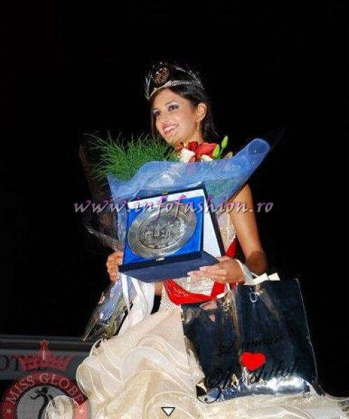 Macedonia_FYRO_2010 Micevska Hristina, 2nd runner-up of Miss Globe in Albania