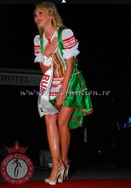 Russia 2010 Natalia Uszova, Miss Bikini at Miss Globe in Albania