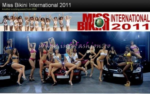 Miss Bikini International 2011 Another exciting event from ERM in China, Winner 2010- Diana Boanca, ROMANIA