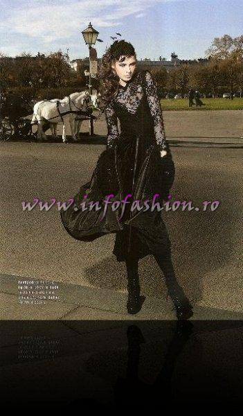 Simona Bitiusca 2011 In To Be Magazine