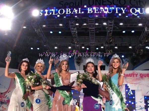 Winner Global beauty Queen 2011 Miss Brazil, 1st Ru Miss Korea, 2nd Ru Miss Australia, 3rd Ru Miss Russia, 4th Ru Miss South Africa