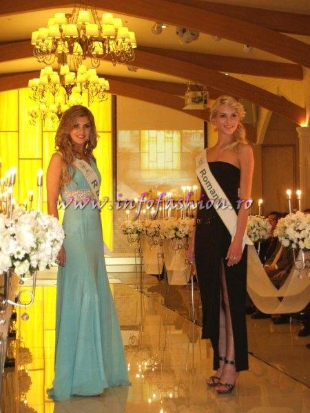 ROMANIA - MARIA-LIA BLEDEA IN TOP 15 LA MISS GLOBAL BEAUTY QUEEN IN SOUTH KOREA si in Top 5 for Miss Global Beauty Internet Popularity