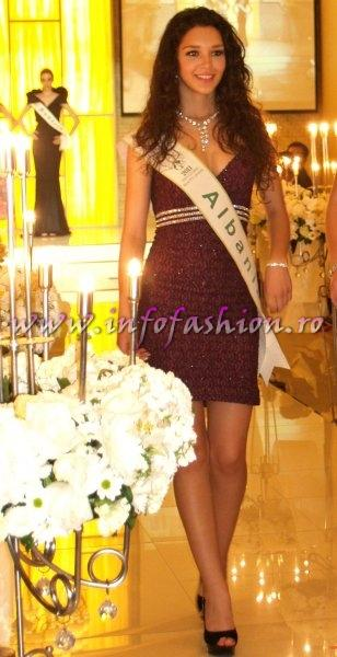 Albania 2011 Nevina Shtylla in TOP 15 at Miss Global Beauty Queen in South Korea