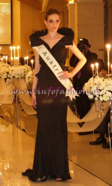 Austria 2011 Fruzsina Lazar at Miss Global Beauty Queen in South Korea