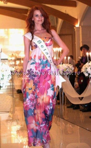 Belarus 2011 Hanna Maliboha for Miss Global Beauty Queen in South Korea