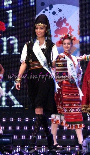 Bosnia_2011 Herzegovina- Zvezdana Perendija in TOP 15 at Miss Global Beauty Queen in South Korea