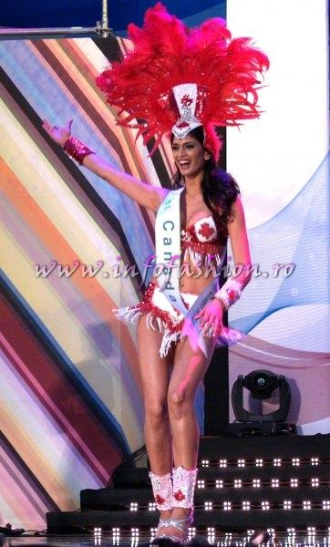 Canada_2011 Elishia Sahota in TOP 15 at Miss Global Beauty Queen in South Korea