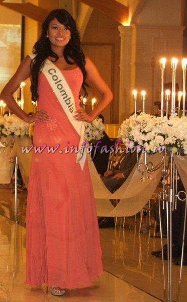 Colombia 2011 Jhoana Paez for Miss Global Beauty Queen in South Korea
