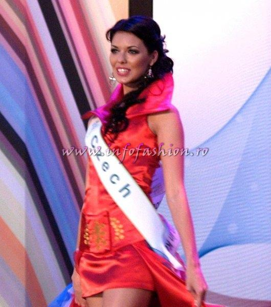 Czech Rep 2011 Michaela Dihlova for Miss Global Beauty Queen in South Korea