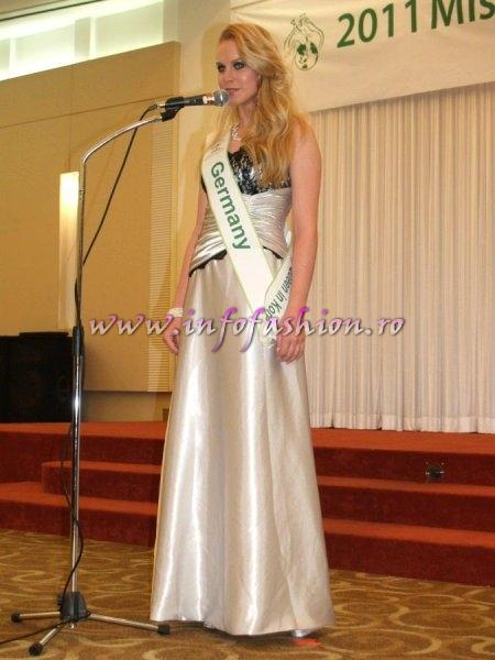 Germany 2011 Mareen Wehner at Miss Global Beauty Queen in South Korea