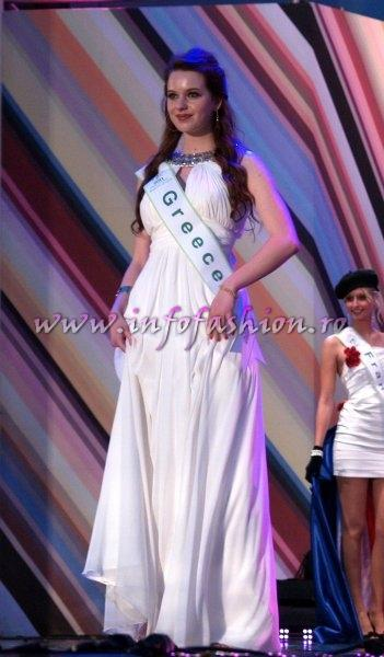 Greece 2011 Teodora Vranic in TOP 15 at Miss Global Beauty Queen in South Korea