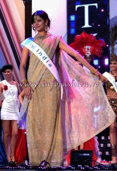 India_2011 Supriya Shailja in TOP 15 at Miss Global Beauty Queen in South Korea