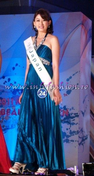 Japan 2011 Shizuka Ikeda at Miss Global Beauty Queen in South Korea