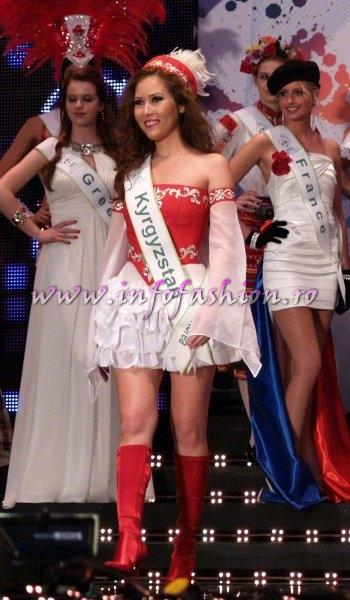 Kyrgyzstan_2011 Altynai Ismankulova for Miss Global Beauty Queen in South Korea