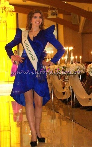 Lithuania Monika Secreckyte for Miss Global Beauty Queen in South Korea 2011