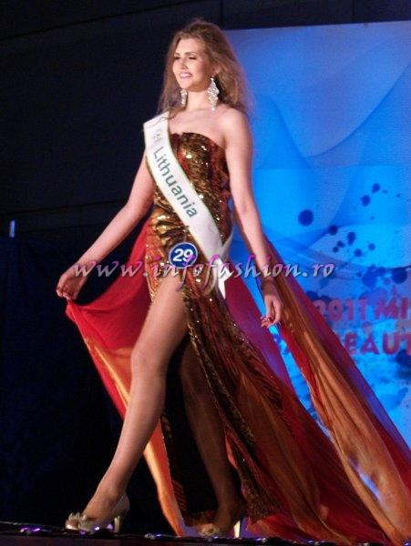 Lithuania_2011 Monika Secreckyte for Miss Global Beauty Queen in South Korea